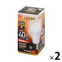 LED電球 E26 広配光 電球色40形