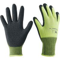 【作業用手袋】ラバーレックスイエロー LL 6双セット AG7883 エースグローブ 1セット(6双入り)(直送品)