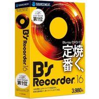 ソースネクスト B's Recorder 16 0000270140 1個(直送品)