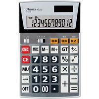 アスカ ビジネス電卓L C1229(直送品)