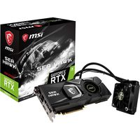 MSI GEFORCE RTX 2080Ti 水冷冷却式 GEFORCE RTX2080TI SEA HAWK X(直送品)