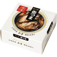 国分グループ本社 K&K 缶つまプレミアム 広島かき 燻製油漬けEO F3号缶×6 0317811 1ケース(6入)(直送品)