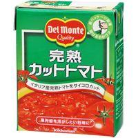 デルモンテ 完熟カットトマト 紙パック 388g×6 0238555 1ケース(6入)(直送品)