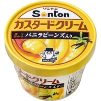 ソントン食品工業 ソントン Fカップ カスタードクリーム 135g×12 0230592 1ケース(12入)(直送品)