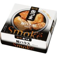 国分グループ本社 K&K 缶つまスモーク 鮭ハラス 50g×6 0317819 1ケース(6入)(直送品)