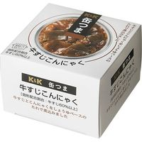 国分グループ本社 K&K 缶つま 牛すじこんにゃく 携帯缶×6 0417261 1ケース(6入)(直送品)