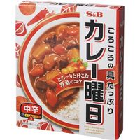 S&B カレー曜日 中辛 230g×5 1607610 1ケース(5入) エスビー食品(直送品)