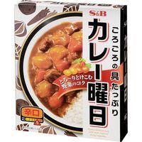 S&B エスビー カレー曜日 辛口 230g×5 1607614 1ケース(5入) エスビー食品(直送品)