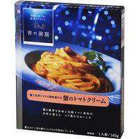青の洞窟 蟹のトマトクリーム 140g×10 1643237 1ケース(10入) 日清フーズ(直送品)