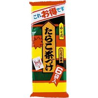永谷園 たらこ茶漬 6袋×10 1941065 1ケース(10入)(直送品)
