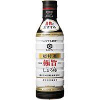 キッコーマン食品 超特選いつでも新鮮極旨醤油 450ml×12 2113365 1ケース(12入)(直送品)