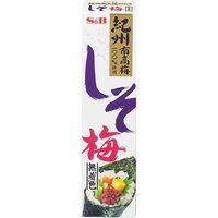 S&B エスビー しそ梅(無着色) 40g×10 2607187 1ケース(10入) エスビー食品(直送品)