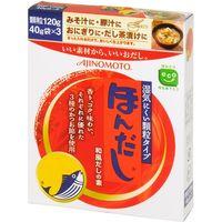 味の素 ほんだし 箱 120g×30 2701814 1ケース(30入)(直送品)