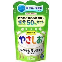 味の素 健康塩 やさしお 袋 180g×40 2901284 1ケース(40入)(直送品)