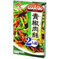 味の素 CookDo 青椒肉絲用二人用 58g×10 2901328 1ケース(10入)(直送品)