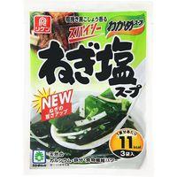 理研ビタミン わかめスープスパイシーねぎ塩スープ 3袋×10 2879416 1ケース(10入)(直送品)