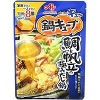 味の素 鍋キューブ 鯛と帆立の極みだし鍋8個入 72g×8 2901811 1ケース(8入)(直送品)