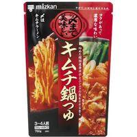 ミツカン 〆まで美味しいキムチ鍋つゆST 750g×12 2963056 1ケース(12入)(直送品)
