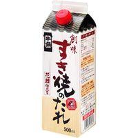 創味食品 すき焼きのたれ 500ml×6 2929247 1ケース(6入)(直送品)