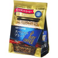 キーコーヒー KEY インスタントコーヒースペシャルブレンド詰替用 70g×12 3513029 1ケース(12入)(直送品)