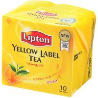 キーコーヒー リプトン イエローラベル ティーバッグ 2g×10袋×6 3613069 1ケース(6入)(直送品)