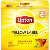 キーコーヒー リプトン イエローラベル ティーバッグ 2g×50袋×6 3613070 1ケース(6入)(直送品)
