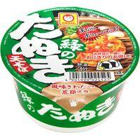 マルちゃん 緑の豆たぬき 天そば 東 カップ 45g×12 5161192 1ケース(12入) 東洋水産(直送品)