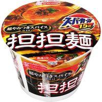 エースコック スーパーカップ1.5倍 担担麺 超やみつきスパイス仕上げ 124g×12 5107483 1ケース(12入)(直送品)