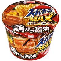 エースコック スーパーカップMAX しょうゆラーメンカップ 119g×12 5107596 1ケース(12入)(直送品)