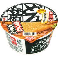 日清食品 どん兵衛きつねうどんミニ東日本 42g×12 5143723 1ケース(12入)(直送品)