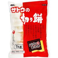 サトウの切り餅パリッとスリット 1Kg×10 5221866 1ケース(10入) サトウ食品(直送品)