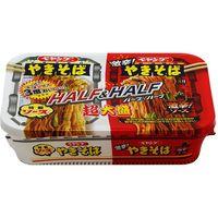 まるか食品 ペヤング ソースやきそば 超大盛ハーフ&激辛 235g×12 5158467 1ケース(12入)(直送品)