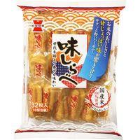 岩塚製菓 味しらべ 32枚×12 5504564 1ケース(12入)(直送品)