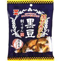 岩塚製菓 黒豆割りせん 醤油味 45g×10 5504576 1ケース(10入)(直送品)