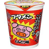 ブタメン とんこつ味 カップ 37g×15 5510006 1ケース(15入) おやつカンパニー(直送品)