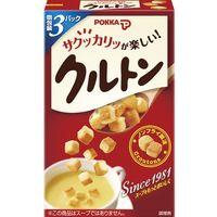 ポッカサッポロ クルトン スープ用 21g×5 5259705 1ケース(5入)(直送品)