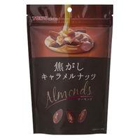 東洋ナッツ食品 TON'S 焦がしキャラメルナッツ アーモンド 105g×8 5539458 1ケース(8入)(直送品)