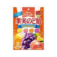 カンロ ノンシュガー 果実のど飴 90g×6 5513832 1ケース(6入)(直送品)
