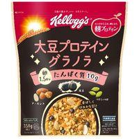 ケロッグ 大豆プロテイン グラノラ 350g×6 5518075 1ケース(6入) 日本ケロッグ(直送品)