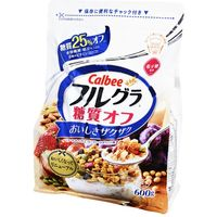 カルビー フルグラ 糖質オフ 600g×6 5518508 1ケース(6入)(直送品)