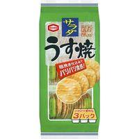 亀田製菓 サラダうす焼 85g×12 5518684 1ケース(12入)(直送品)