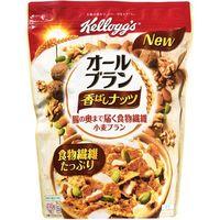 ケロッグ オールブラン香ばしナッツ 410g×6 5518914 1ケース(6入) 日本ケロッグ(直送品)