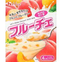 ハウス フルーチェ ミックスピーチ 200g×10 5551239 1ケース(10入) ハウス食品(直送品)