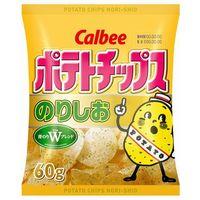 カルビー ポテトチップス のりしお 東日本 60g×12 5612648 1ケース(12入)(直送品)