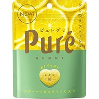 カンロ ピュレグミ レモン 56g×6 5713966 1ケース(6入)(直送品)