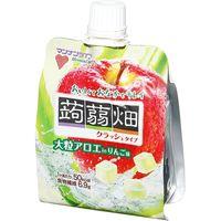 マンナンライフ 大粒アロエin蒟蒻畑 リンゴ味 150g×6 5782264 1ケース(6入)(直送品)