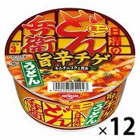 日清食品 日清のどん兵衛 旨辛チゲうどんミニ 1ケース(12食入)