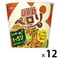 日清食品 日清焼そばU.F.O. ペロリ かつお節香るだしソース 1ケース(12食入)