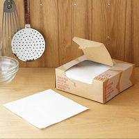 カウンタークロス 使い切りふきん キッチンダスター ハーフサイズ ホワイト 1箱 (30枚入) ロハコ(LOHACO)オリジナル
