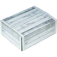 ヤマニパッケージ 白木目段ボール 大 FS L-2406FS 1ケース(40:10枚クラフト胴巻包装)(直送品)